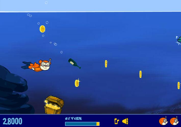 بازی آنلاین تفننی شنای تدی