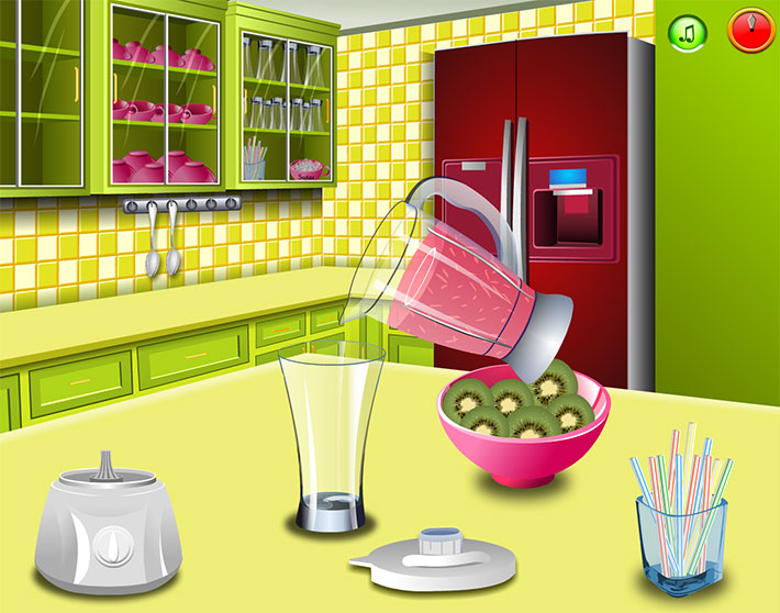 بازی آنلاین دخترانه معجون میوه