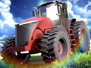 بازی آنلاین تراکتور مزرعه مانیا