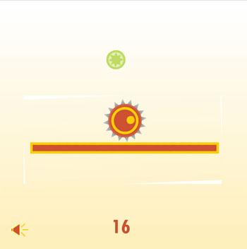 بازی آنلاین تفریحی تعادل توپ