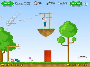 بازی آنلاین تیراندازی چوبه دار