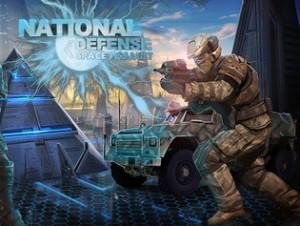 بازی آنلاین دفاع ملی با حمله هوایی