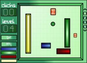 بازی آنلاین فکری توپ مربع