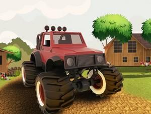 بازی آنلاین دیوانگی مزرعه کامیون